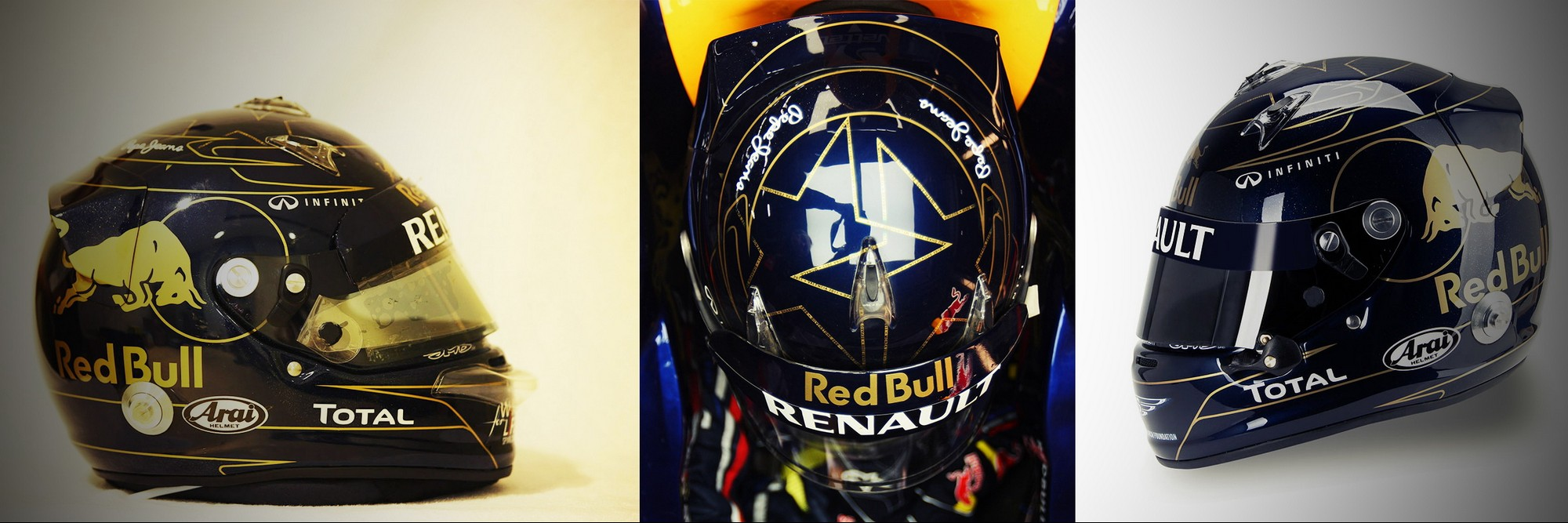 Шлем Себастьяна Феттеля на Гран-При Кореи 2011 | 2011 Korean Grand Prix helmet of Sebastian Vettel