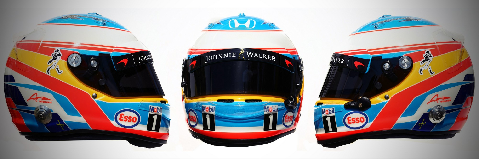Шлем Фернандо Алонсо на сезон 2016 года | 2016 helmet of Fernando Alonso