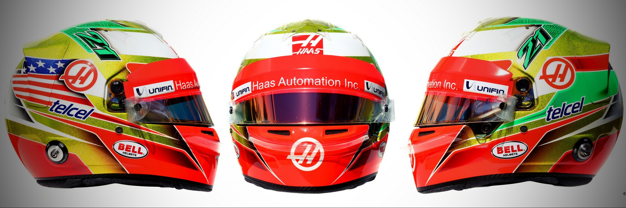 Шлем Эстебана Гутьерреса на сезон 2016 года | 2016 helmet of Esteban Gutierrez
