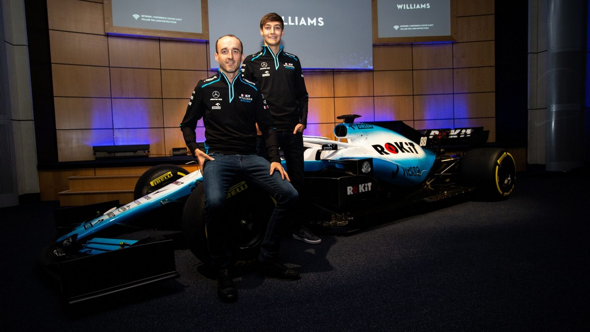 Новая ливрея команды ROKiT Williams Racing