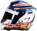 шлем Тома Бломквиста | helmet of Tom Blomqvist