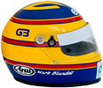 шлем Марка Бланделла | helmet of Mark Blundell