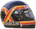 шлем Тьерри Бутсена | helmet of Thierry Boutsen