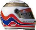 шлем Мартина Брандла | helmet of Martin Brundle