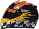 шлем Каруна Чандхока | helmet of Karun Chandhok
