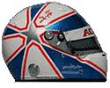 шлем Энтони Дэвидсона | helmet of Anthony Davidson