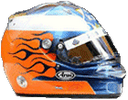 шлем Роберта Дорнбоса | helmet of Robert Doornbos