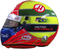 шлем Пьетро Фиттипальди | helmet of Pietro Fittipaldi