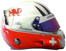 шлем Алекса Фонтана | helmet of Alex Fontana