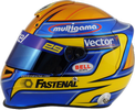шлем Эстебана Гутьерреса | helmet of Esteban Gutierrez