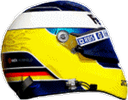 шлем Ника Хайдфельда | helmet of Nick Heidfeld