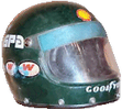 шлем Жака Лаффита | helmet of Jacques Laffite