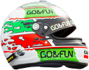 шлем Джанни Морбиделли | helmet of Gianni Morbidelli