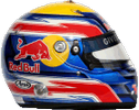 шлем Марка Уэббера | helmet of Mark Webber