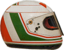 шлем Андреа де Чезариса | helmet of Andrea de Cesaris