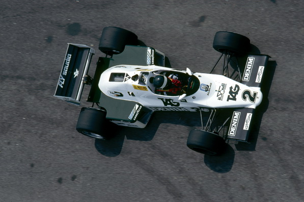 Жак Лаффит на Williams FW08C команды TAG Williams Racing Team | Jacques Laffite in the TAG Williams Racing Team Williams FW08C