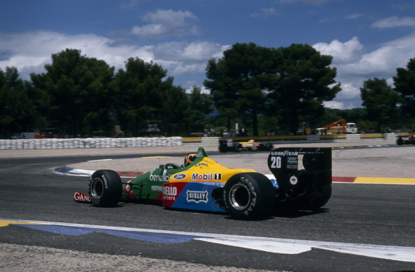 Тьерри Бутсен на Benetton B188 на Гран-При Франции 1988 | Thierry Boutsen in the Benetton B188 at 1988 French Grand Prix