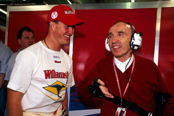 Ральф Шумахер и сэр Фрэнк Уильямс, 1999 год Winfield Williams | Ralf Schumacher and sir Frank Williams of 1999 Winfield Williams