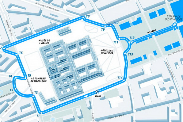 Paris Street Circuit